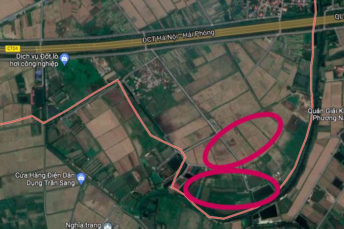 Đất có quy hoạch ở xã Đào Dương, Ân Thi, Hưng Yên