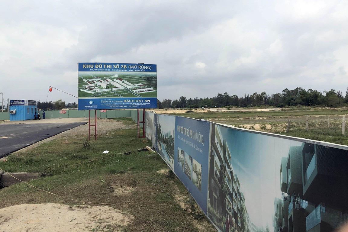 Quảng Nam rà soát giá đất dự án khu đô thị của Bách Đạt An