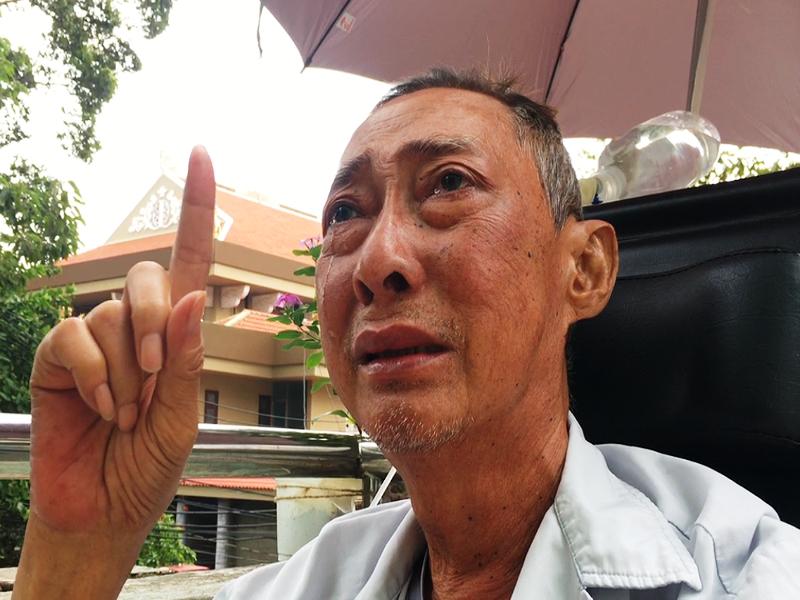 Nghệ sĩ Lê Bình đã tỉnh táo và thèm một ly trà đá