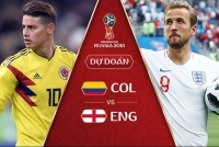 soi keo tai xiu phat goc colombia vs anh vong 18 world cup 2018