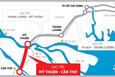 Thủ tướng phê duyệt chủ trương đầu tư dự án đường cao tốc Mỹ Thuận - Cần Thơ, giai đoạn 1