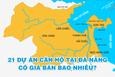 [Infographic] Giá bán 21 dự án căn hộ tại Đà Nẵng