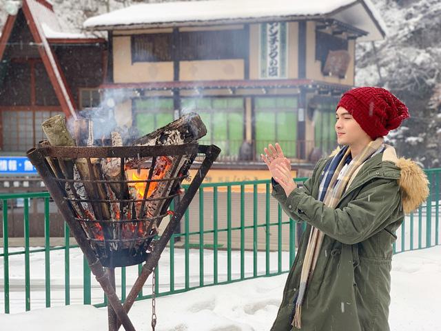 Nam Cường chia sẻ bí kíp sống ảo khi du lịch Nhật Bản mùa tuyết trắng  - Ảnh 8.