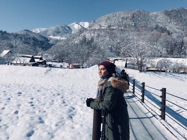 Nam Cường chia sẻ bí kíp sống ảo khi du lịch Nhật Bản mùa tuyết trắng  - Ảnh 2.