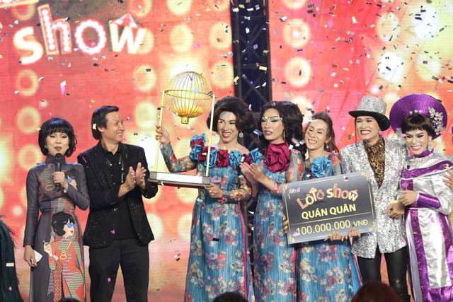 Thánh lô tô Lộ Lộ cùng đoàn Sài Gòn Tân Thời đăng quang quán quân Lô tô show 2018 - Ảnh 6.