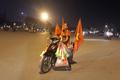 Cờ Tổ quốc, băng rôn cổ vũ ế khách trong trận Việt Nam - Brunei