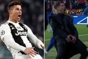 Ăn mừng phản cảm, Ronaldo hết đường thoát án phạt từ UEFA