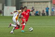 Giao hữu quốc tế: Oman vượt qua Singapore sau màn 'đấu súng' kịch tính