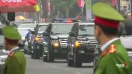 Nhà lãnh đạo Kim Jong Un đến khách sạn Metropol