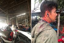 Vụ bị chặt chém bị đánh dã man: Đã làm rõ nhóm người lạ hành hung khách