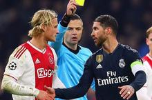 Ramos có thể bị cấm hai trận ở Champions League vì tẩy thẻ