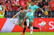 Adisak và Dangda lập công, Văn Lâm chơi xuất sắc, Muang Thong Utd đánh bại Chiangrai tiến 4 bậc trên BXH