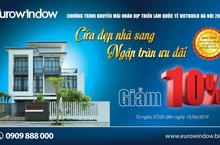 Vietbuild Hà Nội 2019 – Eurowindow khuyến mãi lớn và giới thiệu nhiều sản phẩm mới tới khách hàng