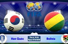 Nhận định Hàn Quốc vs Bolivia, giao hữu quốc tế 2019