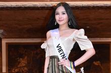 Clip: Bất ngờ với màn catwalk của Lê Âu Ngân Anh tại Miss Intercontinental