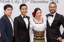 Lý Nhã Kỳ cùng nghệ sĩ Việt mừng kỉ niệm 100 năm Ngày Quốc khánh Romania tại TP HCM