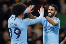 Man City duy trì mạch trận bất bại ở Premier League