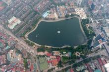 Đồ họa bài toán không gian và kinh tế nhân đề xuất 'lấp hồ Thành Công'