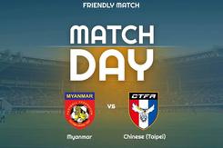 Link xem trực tiếp Myanmar vs Đài Loan, giao hữu quốc tế 2019