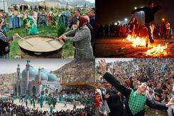 Xuân phân thường là dịp tổ chức lễ hội trên khắp thế giới