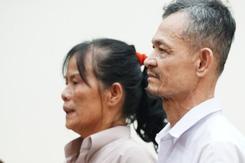 'Không tố giác kẻ giết chồng mình, bị cáo đã làm đúng lương tâm chưa?'