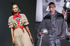 Mạc Trung Kiên, Quỳnh Anh trình diễn ấn tượng tại Seoul Fashion Week 2019
