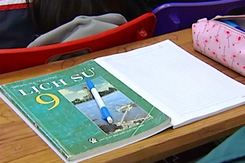 Học sinh Hà Nội học thêm Sử để thi vào lớp 10 công lập