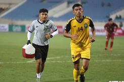 Thành viên U23 Việt Nam lứa Thường Châu khoác áo U23 Brunei