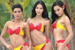Người đẹp bikini Vietjet lại đăng quang Hoa hậu Hoàn vũ Việt Nam