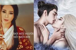 Lâm Khánh Chi hóa 'hồ ly' hôn trai lạ trong phim ca nhạc tiền tỉ
