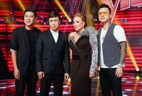 Dàn HLV ra mắt ở hậu trường ghi hình The Voice 2019