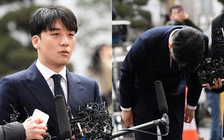 Seungri cúi gập người xin lỗi người hâm mộ