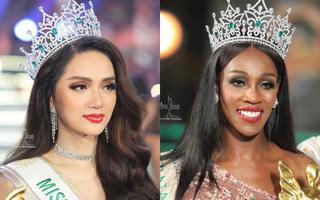 Đọ sắc vóc Hương Giang và tân Hoa hậu Chuyển giới Quốc tế 2019, ai thuyết phục hơn?