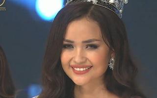 Ngọc Châu Next Top đăng quang Hoa hậu Siêu quốc gia Việt Nam 2018
